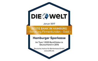 Beste Bank in Hamburg