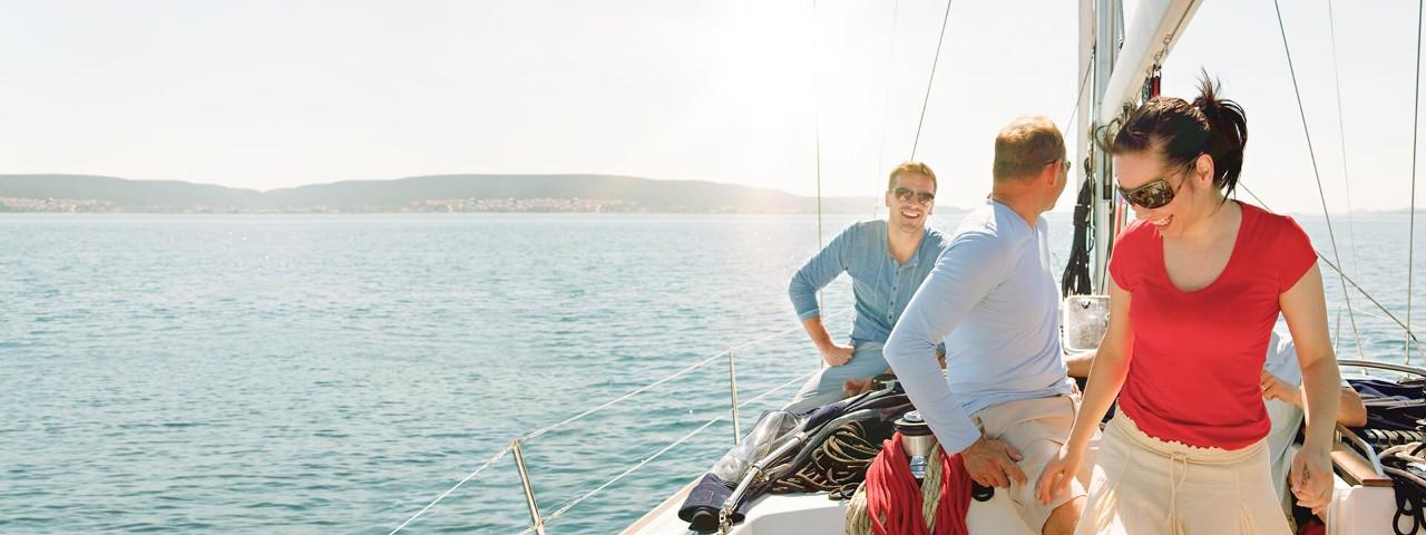Mit den vom Staat geförderten Rentenversicherungen können Sie bei der Haspa für die Zukunft vorsorgen.