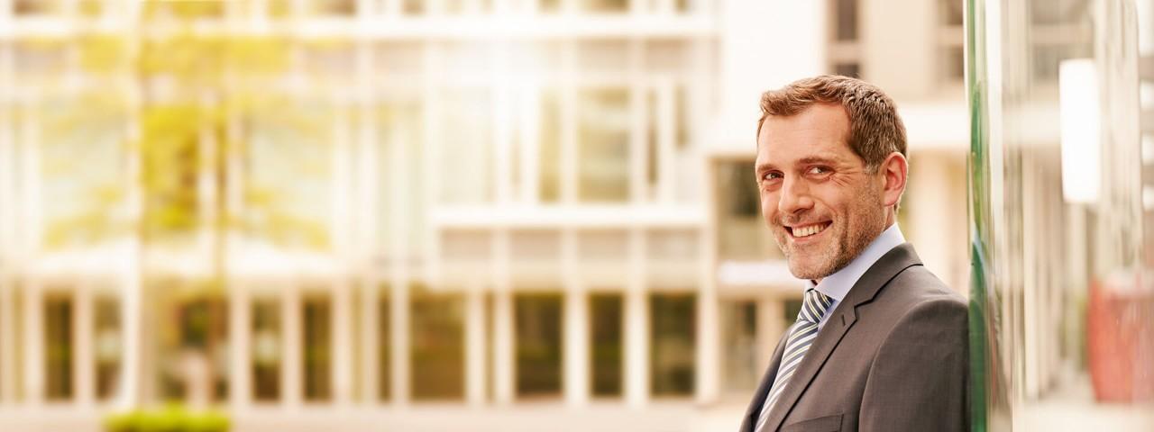 Angebote und Beratungsleistungen der Haspa für Firmenkunden in Hamburg in der Übersicht.