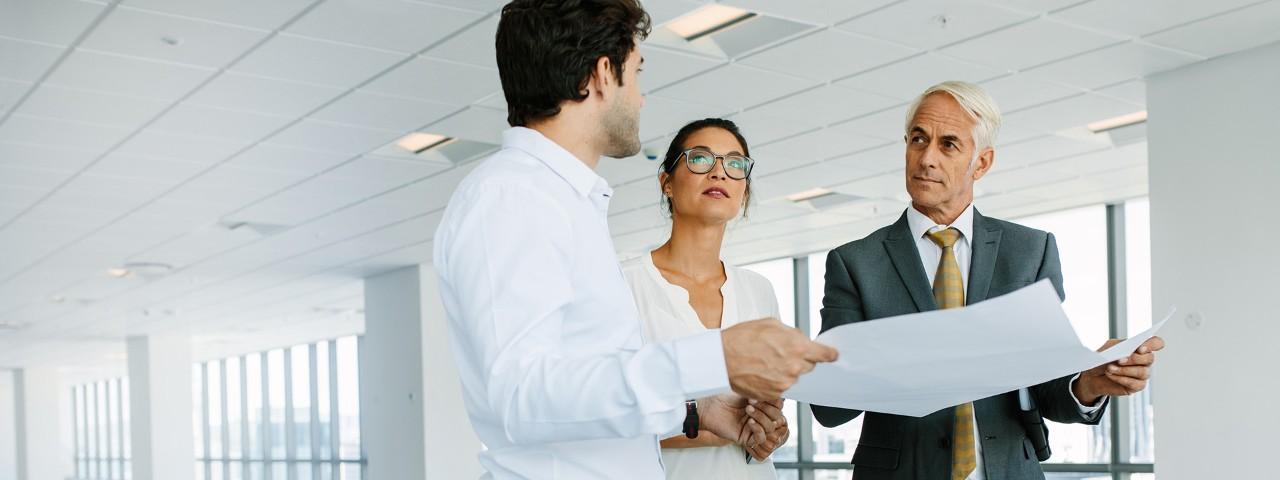 Die Haspa berät und betreut Immobilienkunden im Immobiliengeschäft.