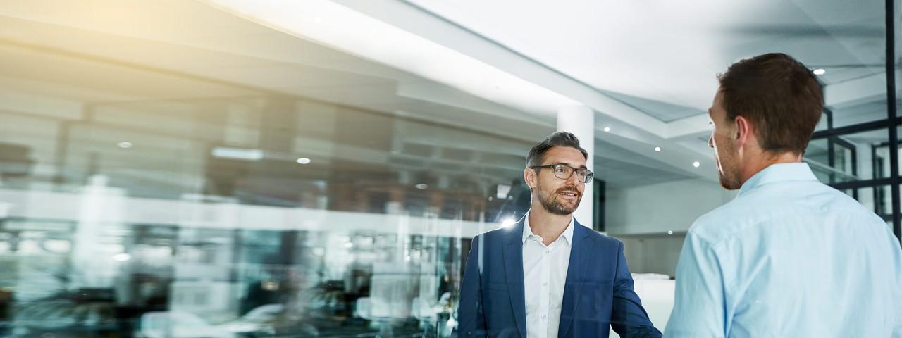 Das GeschäftsgiroKonto der Haspa bietet insbesondere großen Unternehmen Vorteile.