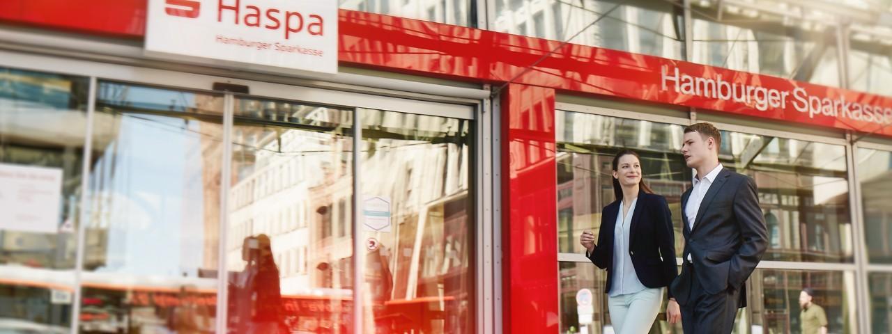 Das Unternehmen Haspa im Selbstporträt.